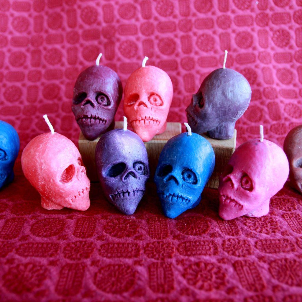 Bougie Tête de Mort / Skull candle
